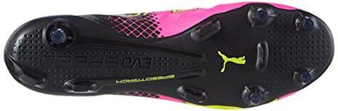 Puma evoSPEED II SL Tricks FG Pink Glo Safety Yellow Black Image 3
