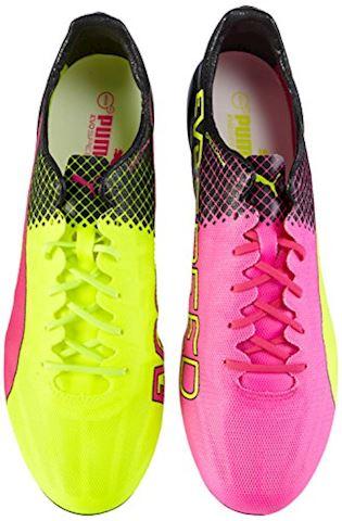 Puma evoSPEED II SL Tricks FG Pink Glo Safety Yellow Black Image 5