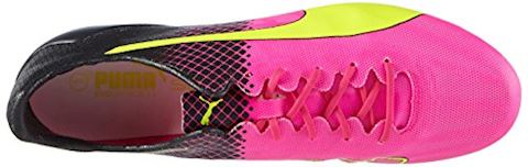 Puma evoSPEED II SL Tricks FG Pink Glo Safety Yellow Black Image 7