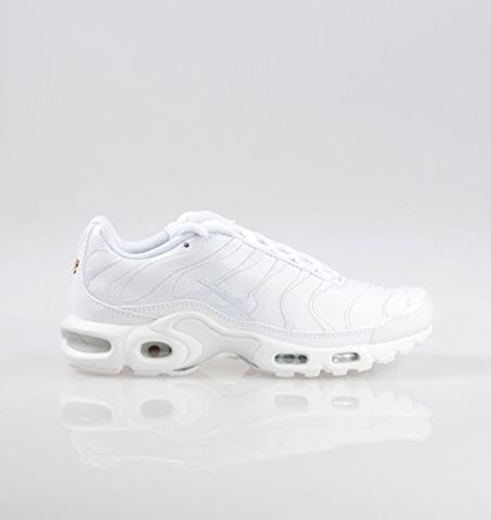 Nike Air Max Plus Men's Shoe - White Image