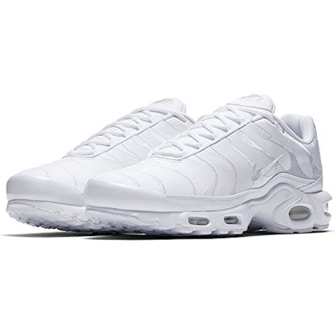 Nike Air Max Plus Men's Shoe - White Image 7
