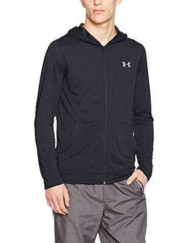 Under Armour Men's UA Threadborne Fitted Full Zip Hoodie Image
