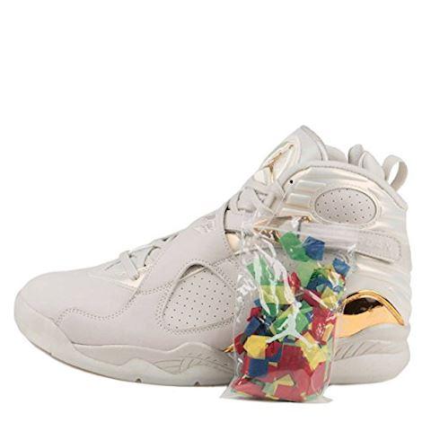 Nike Air Jordan 8 Retro C&C Men's Shoe - Cream Image 2