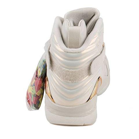 Nike Air Jordan 8 Retro C&C Men's Shoe - Cream Image 4