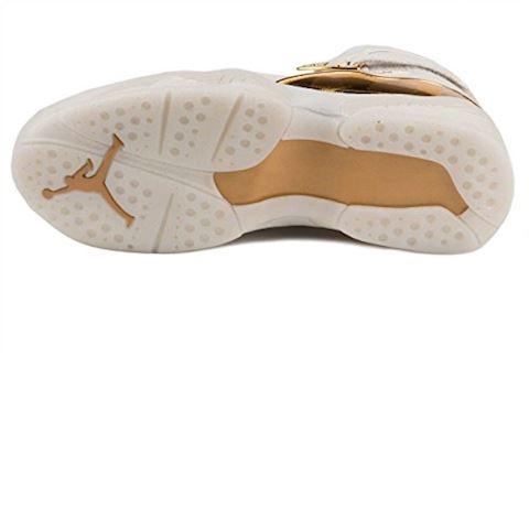 Nike Air Jordan 8 Retro C&C Men's Shoe - Cream Image 5