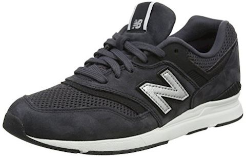 New Balance  WL697  women's Shoes (Trainers) in White Image