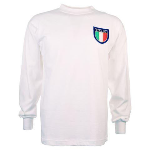 Italy Mens SS Away Shirt 1960 Image 2