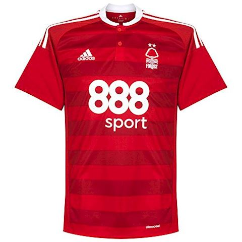adidas Nottingham Forest Mens SS Home Shirt 2016/17 Image