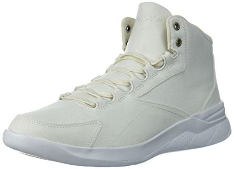 Under Armour Women's UA Charged Pivot Mid Canvas Sportstyle Shoes Image