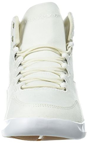 Under Armour Women's UA Charged Pivot Mid Canvas Sportstyle Shoes Image 4