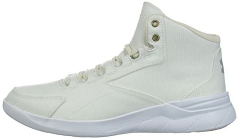 Under Armour Women's UA Charged Pivot Mid Canvas Sportstyle Shoes Image 5