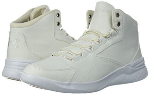 Under Armour Women's UA Charged Pivot Mid Canvas Sportstyle Shoes Image 6