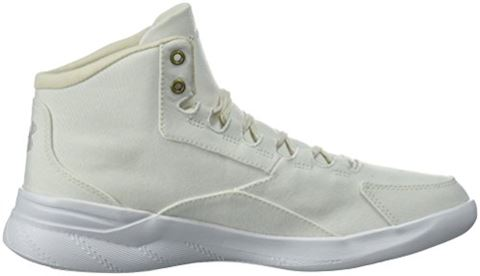 Under Armour Women's UA Charged Pivot Mid Canvas Sportstyle Shoes Image 7
