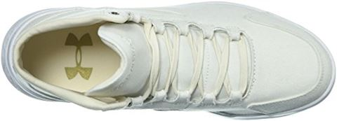 Under Armour Women's UA Charged Pivot Mid Canvas Sportstyle Shoes Image 8