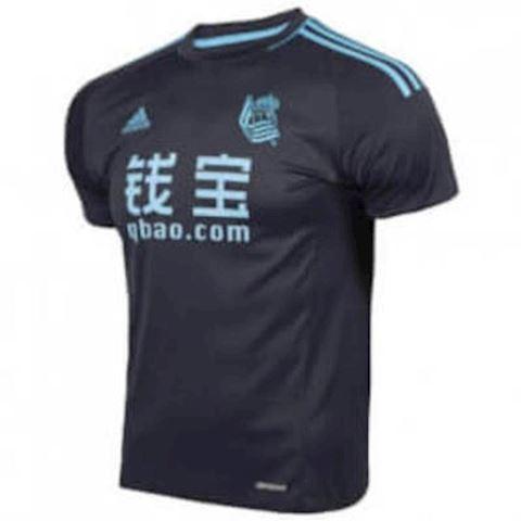 adidas Real Sociedad Mens SS Away Shirt 2016/17 Image