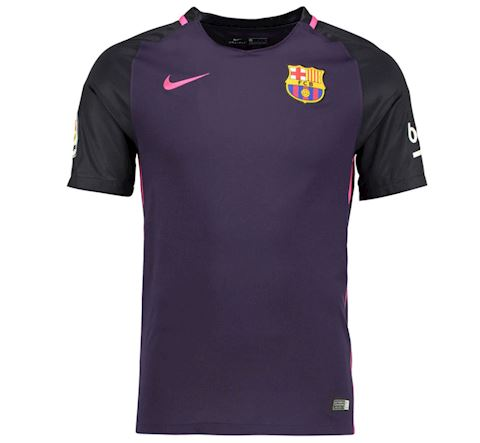 Nike Barcelona Mens SS Away Shirt 2016/17 Image