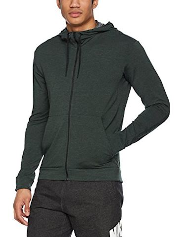 Nike Dri-FIT Men's Training Full-Zip Hoodie - Green