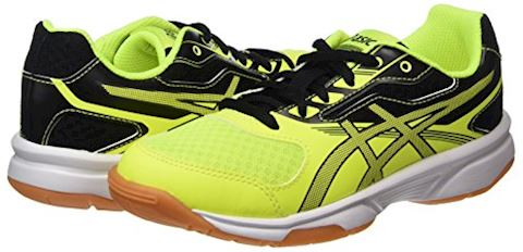 Asics  GEL-UPCOURT GS  boys's Indoor Sports Trainers (Shoes) in Yellow Image 5