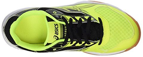 Asics  GEL-UPCOURT GS  boys's Indoor Sports Trainers (Shoes) in Yellow Image 7