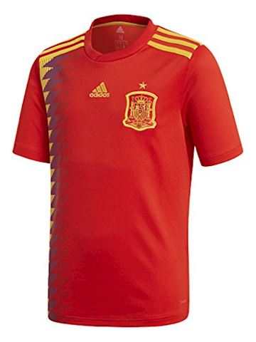 adidas Spain Kids SS Home Shirt 2018 Image