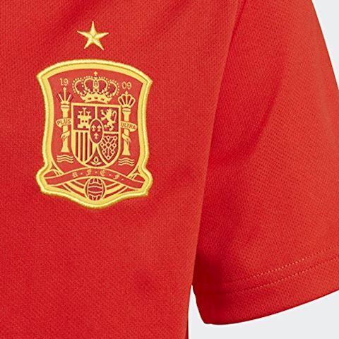 adidas Spain Kids SS Home Shirt 2018 Image 4