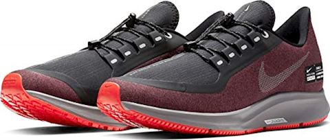 look for 40e48 28d2c Nike Running Shoe Air Zoom Pegasus 35 Shield - Black/Metallic Silver/Night  Maroon