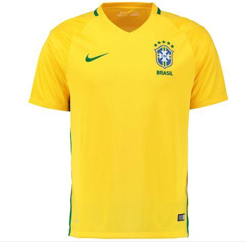f12f3aa34a65 Nike Brazil Kids SS Home Shirt 2016 | 724685-703 | FOOTY.COM