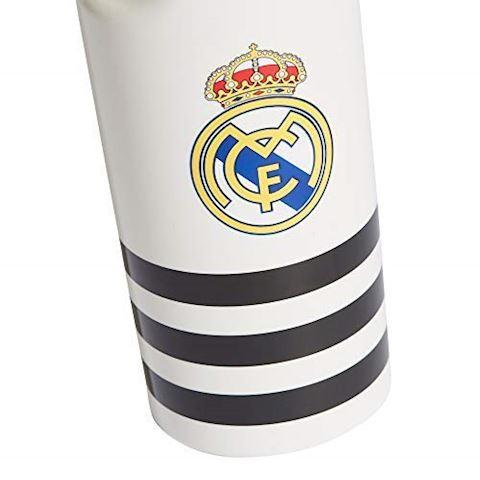 adidas Real Madrid Drinks Bottle - White/Black Image 2