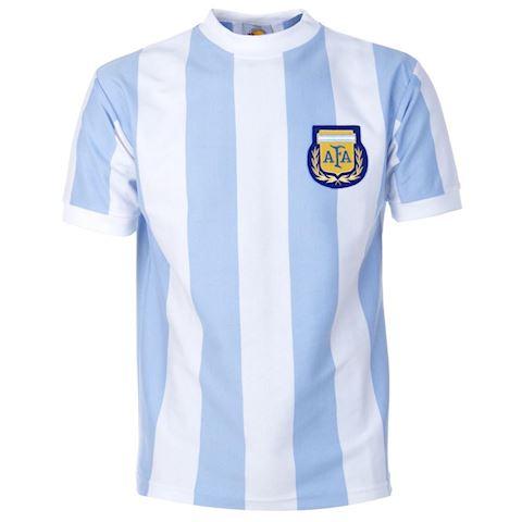 0e7df206527 Le Coq Sportif Argentina Mens SS Home Shirt 1986 | FOOTY.COM