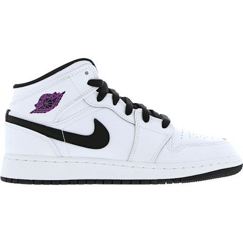 size 40 dc01d 45ae4 Nike Air Jordan 1 Mid (3-6) Older Kids' Shoe - White