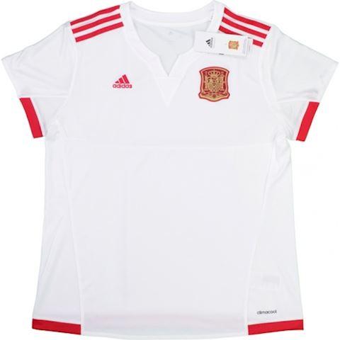 adidas Spain Womens SS Away Shirt 2015 Image