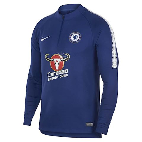 Nike Chelsea FC Dri-FIT Squad Drill Men's Long-Sleeve Football Top - Blue Image