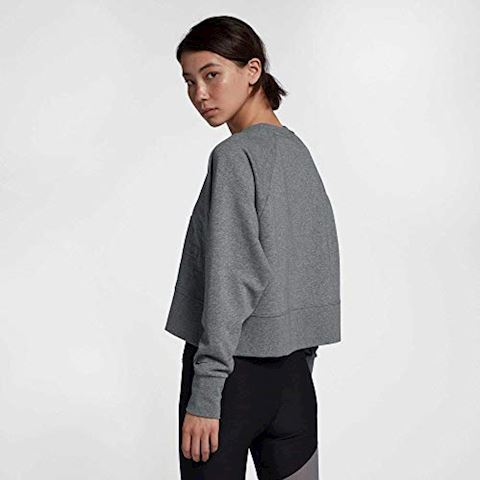 Nike Versa Women's Long-Sleeve Training Top - Grey Image 5