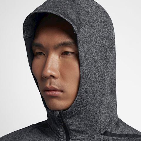 6a3612d7 Nike Dri-FIT Men's Long-Sleeve Full-Zip Training Hoodie - Black Image