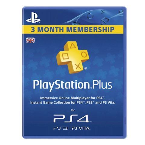 Playstation Plus 90 Days Subscription Card (PSN UK) Image