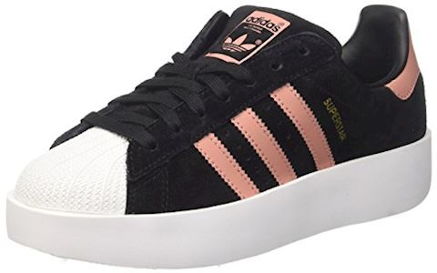 low priced 53303 c479c adidas SUPERSTAR BOLD W women's Shoes (Trainers) in Black