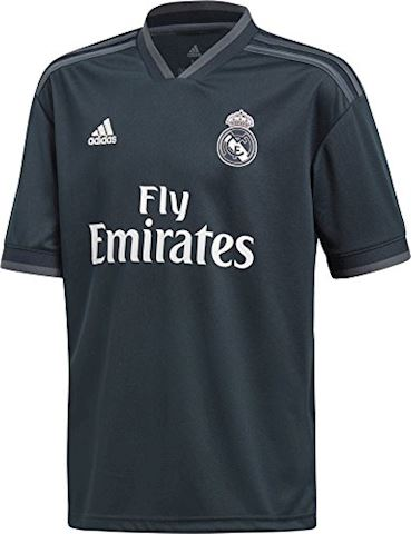adidas Real Madrid Kids SS Away Shirt 2018/19 Image 2
