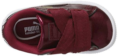 Puma Basket Heart Glam Pack - Baby Shoes Image 7