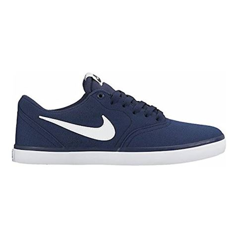 Nike SB Check Solarsoft Canvas Men's Skateboarding Shoe - Blue Image
