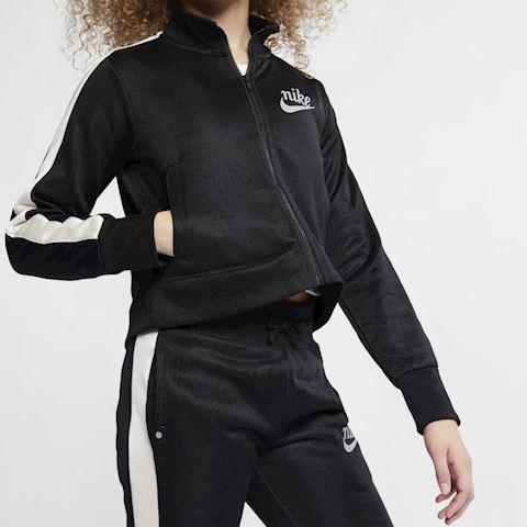 Nike Sportswear Older Kids' (Girls') Jacket - Black Image 4