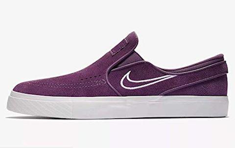 Nike SB Zoom Stefan Janoski Slip-On Men's Skateboarding Shoe - Purple Image 2