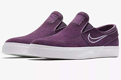 Nike SB Zoom Stefan Janoski Slip-On Men's Skateboarding Shoe - Purple Image 3