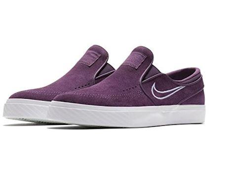 Nike SB Zoom Stefan Janoski Slip-On Men's Skateboarding Shoe - Purple Image 6