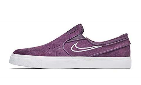 Nike SB Zoom Stefan Janoski Slip-On Men's Skateboarding Shoe - Purple Image 7