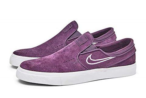 Nike SB Zoom Stefan Janoski Slip-On Men's Skateboarding Shoe - Purple Image 8
