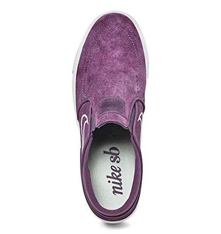 Nike SB Zoom Stefan Janoski Slip-On Men's Skateboarding Shoe - Purple Image 9