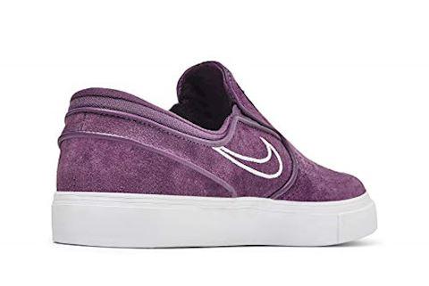 Nike SB Zoom Stefan Janoski Slip-On Men's Skateboarding Shoe - Purple Image 10