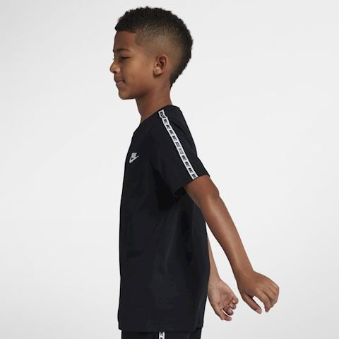Nike Sportswear Older Kids' T-Shirt - Black Image 2