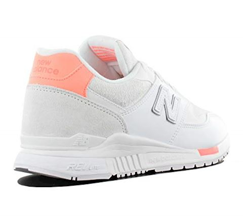 New Balance  WL840  women's Shoes (Trainers) in White Image 3