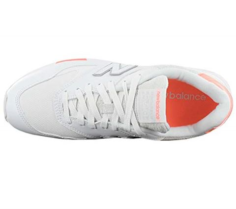 New Balance  WL840  women's Shoes (Trainers) in White Image 5